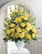 Gaziantep online çiçekçi , çiçek siparişi  sari güllerden sebboy tanzim çiçek siparisi