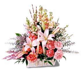 Gaziantep online çiçekçi , çiçek siparişi  mevsim çiçekleri sepeti özel tanzim