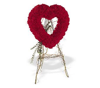 Gaziantep çiçek yolla , çiçek gönder , çiçekçi   karanfillerden kalp pano
