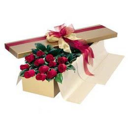 Gaziantep çiçek satışı  10 adet kutu özel kutu