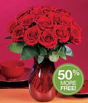 Gaziantep 14 şubat sevgililer günü çiçek  10 adet Vazoda Gül çiçek ideal seçim