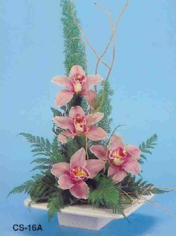 Gaziantep çiçek online çiçek siparişi  vazoda 4 adet orkide