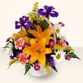 Gaziantep ucuz çiçek gönder  sepet içinde karisik çiçekler