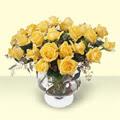 Gaziantep çiçek online çiçek siparişi  11 adet sari gül cam yada mika vazo içinde
