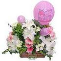balon ve çiçeklerle tanzim  Gaziantep çiçek yolla , çiçek gönder , çiçekçi