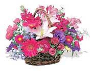 küçük karisik özel sepet   Gaziantep çiçek siparişi sitesi