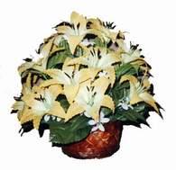 yapay karisik çiçek sepeti   Gaziantep online çiçekçi , çiçek siparişi
