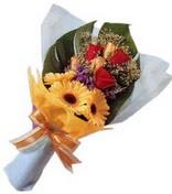 güller ve gerbera çiçekleri   Gaziantep 14 şubat sevgililer günü çiçek