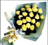 sari güllerden sade buket  Gaziantep çiçek mağazası , çiçekçi adresleri