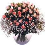 büyük cam fanusta güller   Gaziantep anneler günü çiçek yolla