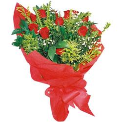 11 adet gül buketi sade ve görsel  Gaziantep çiçek satışı