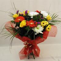 Gaziantep güvenli kaliteli hızlı çiçek  Karisik mevsim demeti