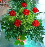 6 adet kirmizi gül buketi   Gaziantep çiçek gönderme