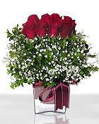 Gaziantep çiçek mağazası , çiçekçi adresleri  11 adet gül mika yada cam - anneler günü seçimi -