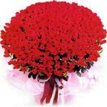 Gaziantep cicek , cicekci  1001 adet kirmizi gülden çiçek tanzimi