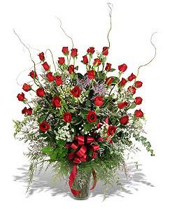 Gaziantep online çiçekçi , çiçek siparişi  33 adet kirmizi gül vazo içerisinde