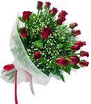 Gaziantep çiçek yolla , çiçek gönder , çiçekçi   11 adet kirmizi gül buketi sade ve hos sevenler