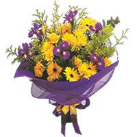 Gaziantep 14 şubat sevgililer günü çiçek  Karisik mevsim demeti karisik çiçekler