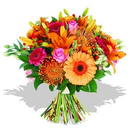 Gaziantep çiçek online çiçek siparişi  Karisik kir çiçeklerinden görsel demet