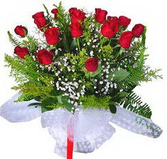 Gaziantep çiçek servisi , çiçekçi adresleri  12 adet kirmizi gül buketi esssiz görsellik