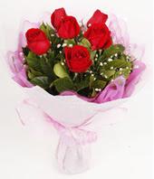 9 adet kaliteli görsel kirmizi gül  Gaziantep hediye sevgilime hediye çiçek