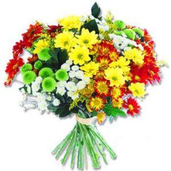 Kir çiçeklerinden buket modeli  Gaziantep çiçek gönderme