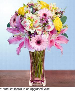 Anneme hediye karisik cam mevsim demeti  Gaziantep çiçek gönderme sitemiz güvenlidir