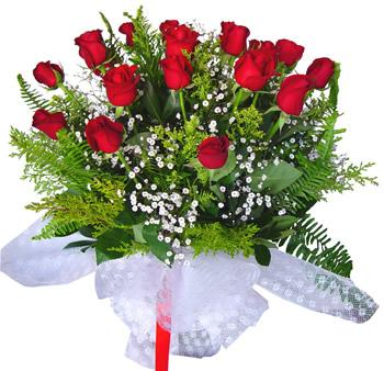 11 adet gösterisli kirmizi gül buketi  Gaziantep çiçek yolla , çiçek gönder , çiçekçi