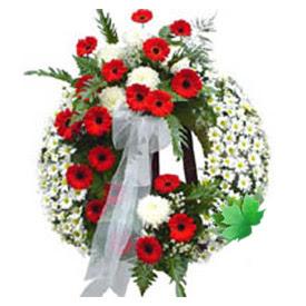 Cenaze çelengi cenaze çiçek modeli  Gaziantep çiçek , çiçekçi , çiçekçilik
