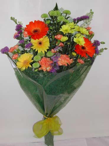 karisik kir çiçek buketi çiçek gönderimi  Gaziantep çiçek satışı