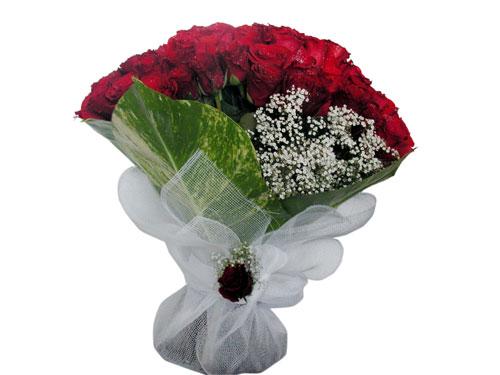 25 adet kirmizi gül görsel çiçek modeli  Gaziantep internetten çiçek satışı