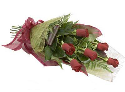 ucuz çiçek siparisi 6 adet kirmizi gül buket  Gaziantep online çiçekçi , çiçek siparişi