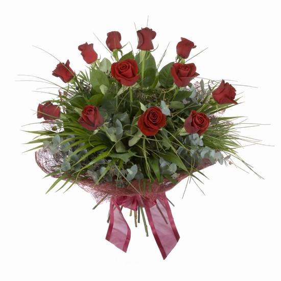 Etkileyici buket 11 adet kirmizi gül buketi  Gaziantep çiçek yolla , çiçek gönder , çiçekçi