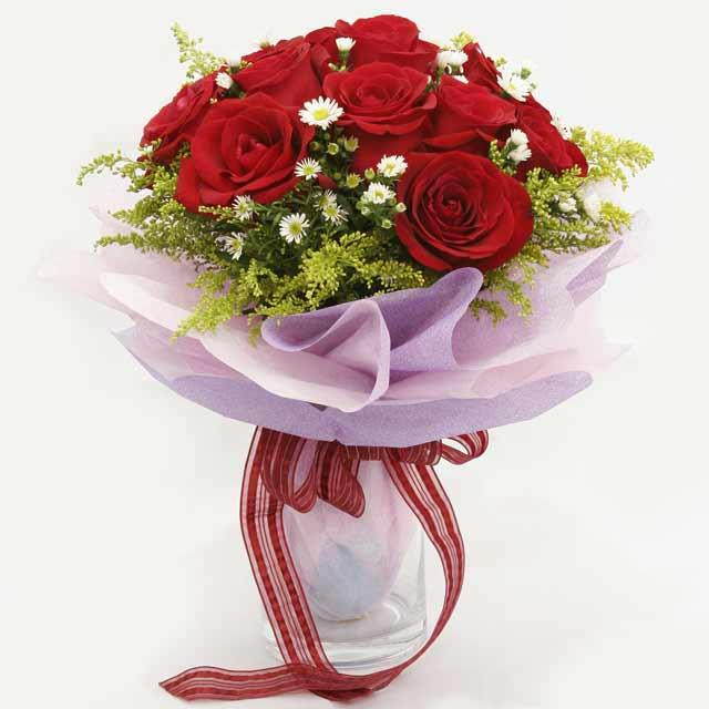Çiçek gönderme estetikliginiz 11 gül buket  Gaziantep yurtiçi ve yurtdışı çiçek siparişi