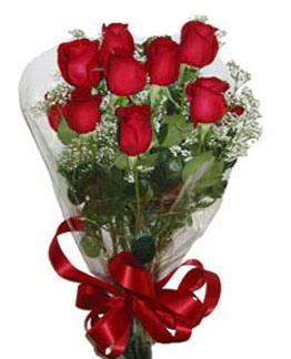 Çiçek sade gül buketi 7 güllü buket  Gaziantep çiçek gönderme