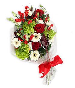 Karisik mevsim buketi çiçek tanzimi  Gaziantep çiçek gönderme sitemiz güvenlidir