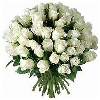 Gaziantep internetten çiçek satışı  33 adet beyaz gül buketi