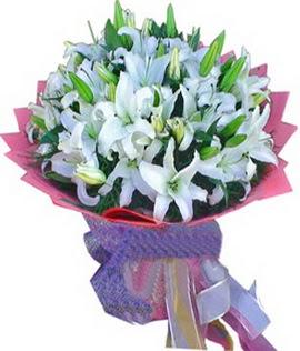 7 dal cazablanca görsel buketi  Gaziantep yurtiçi ve yurtdışı çiçek siparişi
