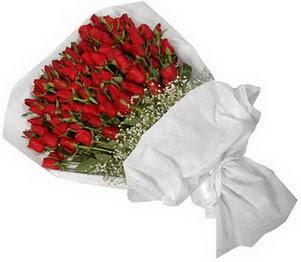 Gaziantep uluslararası çiçek gönderme  51 adet kırmızı gül buket çiçeği