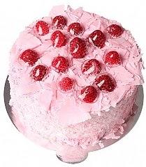 6 ile 9 kişilik Frambuazlı yaş pasta
