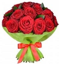 11 adet kırmızı gül buketi  Gaziantep çiçek satışı