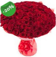 Özel mi Özel buket 101 adet kırmızı gül  Gaziantep hediye çiçek yolla