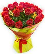 19 Adet kırmızı gül buketi  Gaziantep çiçek yolla