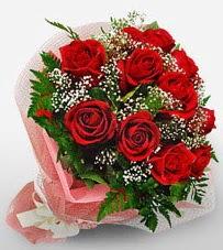 12 adet kırmızı güllerden kaliteli gül  Gaziantep çiçek yolla