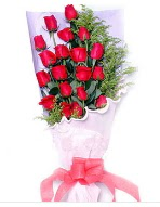 19 adet kırmızı gül buketi  Gaziantep çiçek , çiçekçi , çiçekçilik