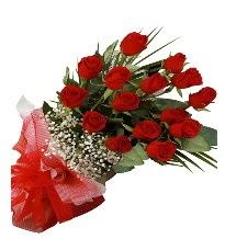 15 kırmızı gül buketi sevgiliye özel  Gaziantep 14 şubat sevgililer günü çiçek