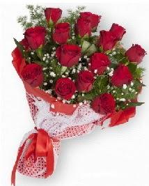 11 kırmızı gülden buket  Gaziantep çiçek siparişi vermek
