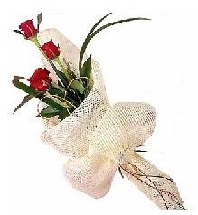 3 adet kırmızı gül buketi  Gaziantep çiçek siparişi vermek