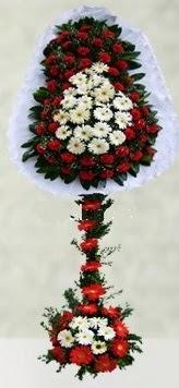 Gaziantep çiçek yolla , çiçek gönder , çiçekçi   çift katlı düğün açılış çiçeği