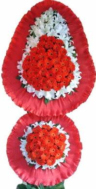Gaziantep çiçek gönderme  Çift katlı kaliteli düğün açılış sepeti